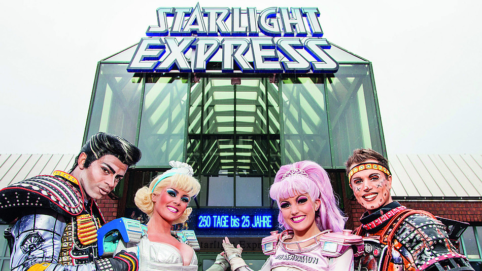 Starlight Express Musical Theater